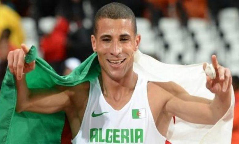 العداء الجزائري مخلوفي